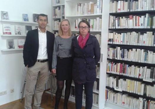 En visite à la bibliothèque française de Spire
