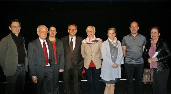 Réunion d'information à Munich avec Jean-Yves Leconte